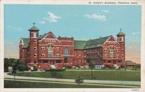 Iowa Ottumwa St Joseph's Academy Curteich
