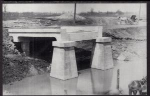 Bridge Construction,Pendleton,NY NYS Erie Canal BIN