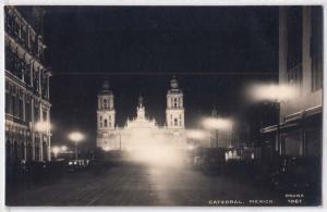 RPPC, Catedral Mex