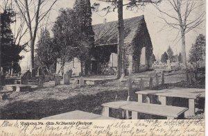 RADNOR , Pennsylvania, PU-1906 ; Old St. David's Church