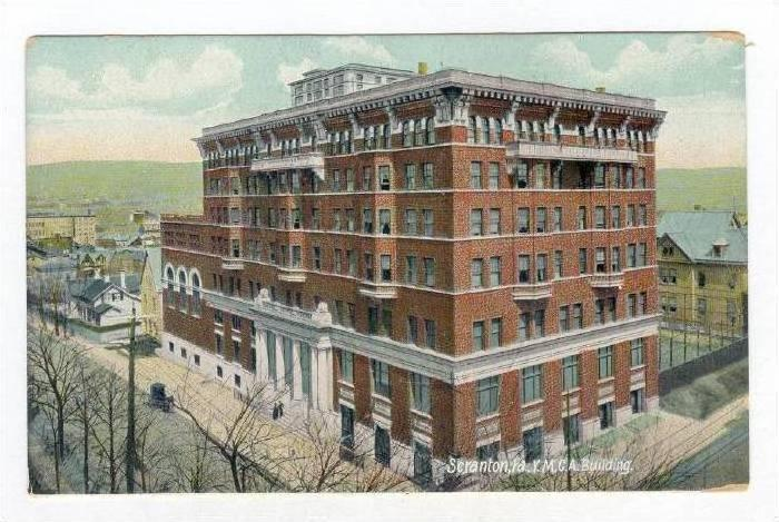 YMCA Building, Scranton, Pennsylvania, 1900-10s