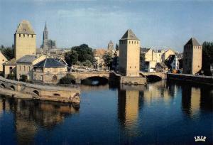 France Strasbourg, Les Ponts Couverts, Les Trois Tours Panorama Bridges