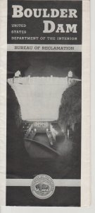 1930s Boulder Dam Brochure Published by US Dept of the Interior