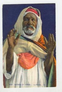 Scenes et Types, La Priere, Arabic Old Man,  00-10s