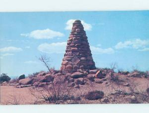 Unused Pre-1980 GRAVE MARKER Tombstone Arizona AZ F1710