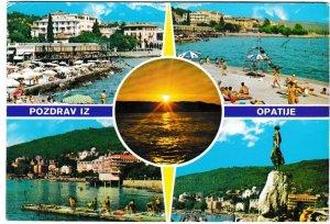 Postcard Yugoslavia Croatia Opatija 5 views