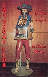 LAS VEGAS NV Las Vegas Club Outlaw Slot Machine Fremont Street Nevada Postcard