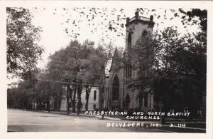 RP: Presbyterian and North Baptist Churches, Belvidere, Illinois, 1930-40s