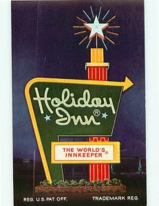 Holiday Inn Old Mill Omaha Nebraska Westroads Shopping Center   Postcard # 7209