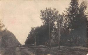 Colton South Dakota Street Scene Real Photo Antique Postcard K67330