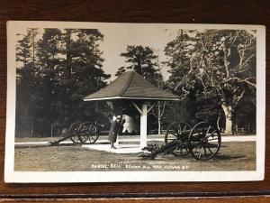1909 RPPC Chinese Bell, Beacon Hill Park, Victoria, British Columbia D16