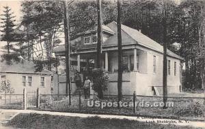 Cottage at the Park Loch Sheldrake NY Unused