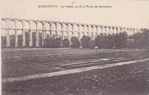 Le Viaduc Vu De La Route De Semoutiers, Chaumont (Haute Marne), France, 1900-...