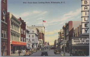 Wilmington, N. C., Front Street, Looking North -
