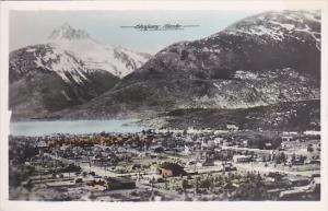 Panorama Skagway Alaska Real Photo