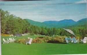 New Hampshire Jackson Carter Notch From Terrace Of Eagle Mountain House 1962