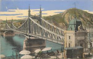 Hungary 1910 BUDAPEST Ferencz Jozsef Danube bridge pont Francois Josef