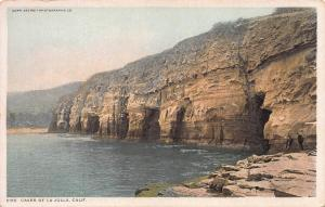 Caves of La Jolla, California, Early Postcard, Unused