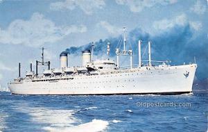 Military Battleship Postcard, Old Vintage Antique Military Ship Post Card Uni...