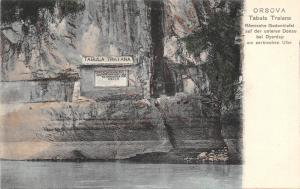 B71944 orsova 1900 Tabula Traiana    romania  mehedinti