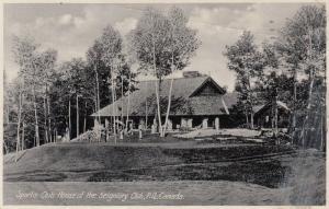 Sports Club House of the Siigniory Club , Quebec , Canada , 1938