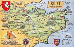 Kent The Garden of England, North Downs, Canterbury, Ashford, Romney Marsh
