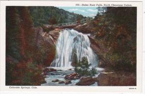 Colorado Colorado Springs Helen Hunt Falls North Cheyenne Canon