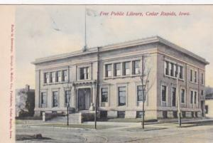 Iowa Cedar Rapids The Free Public Library