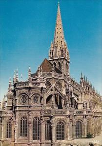France Caen Abside de l'eglise Saint-Pierre