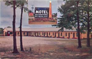 Waynesboro Georgia~Beacon Motel~US 25 North~1950s Postcard