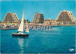 Modern Postcard La Grande Motte (Herault) port