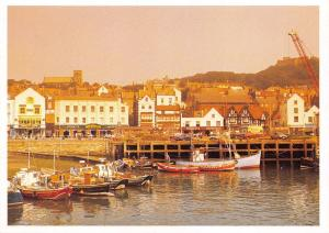 Postcard SCARBOROUGH Harbour & Fishing Boats, North Yorkshire D19