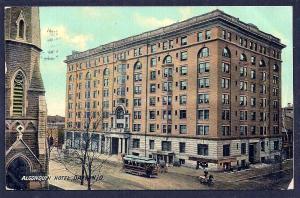 Hotel Algonquin Dayton OH used c1910