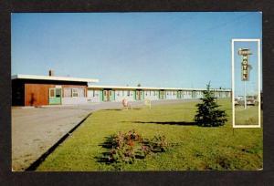 Starlight Motel BRANDON MANITOBA CANADA Postcard PC