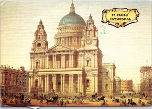St Paul's Cathedral London England Postcard used 1980