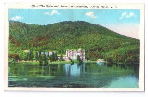 Vintage Postcard Hotel The Balsams Dixville Notch NH Lake