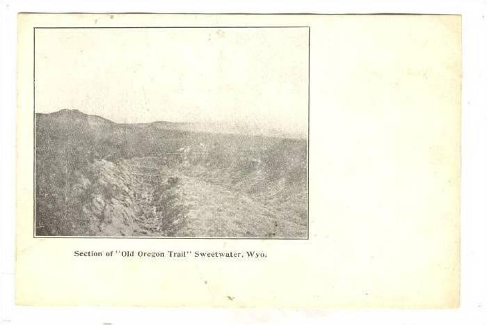 Section of Old Oregon Trail, Sweetwater, Wyoming, 00-10s