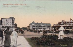 ASBURY PARK , New Jersey, PU-1910;  Asbury Ave.