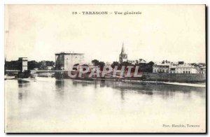 Old Postcard Tarascon General view