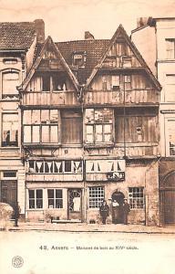 Anvers Belgium, Belgique, Belgie, Belgien Maisons e bois au XIV siecle Anvers...