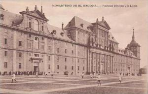Spain Monasterio De El Escorial Facade principal y la Lonja