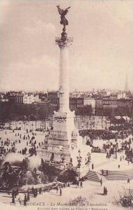 France Bordeaux Le Monument des Girondins