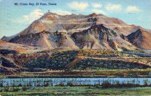 [ Linen ] US Texas El Paso - Mt. Cristo Rey