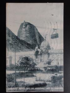 Brazil: Rio De Janeirp CAMINHO AEREO PAO DE ASSUCAR c1923