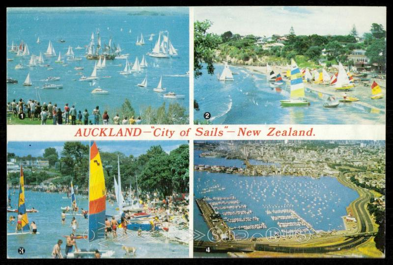 Auckland - City of Sails - New Zealand
