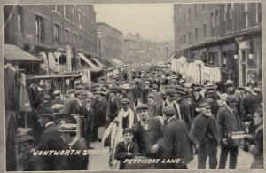 LONDON , England , 00-10s ; Wentworth Street , Petticoat Lane