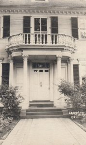 RP: PORTSMOUTH , New Hampshire , 1910s ; Home Doorway