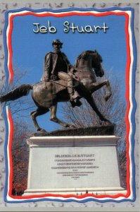 VA - Richmond. Confederate General J.E.B. Stuart Monument