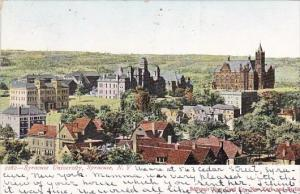 New York Syracuse University 1906