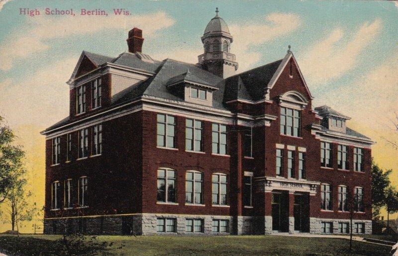 Wisconsin Berlin High School sk2123